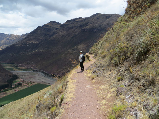Emberly at Pisac